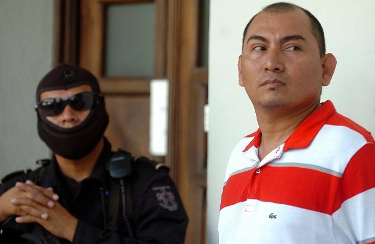 Rigoberto Vásquez Panameño debería recobrar su libertad en 2050. Foto EDH / ARCHIVO.