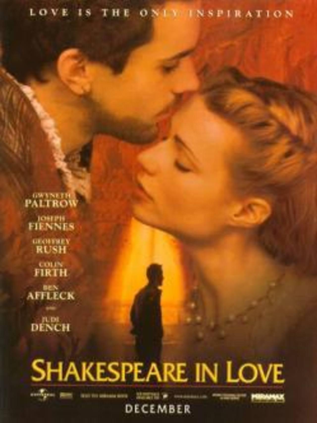 William Shakespeare en el mundo cinematográfico