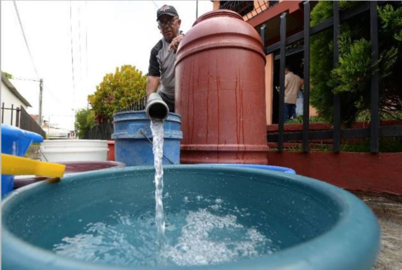 ANDA anuncia suspensión del servicio de agua potable en San Salvador