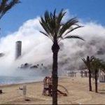 """Video: """"Misteriosa"""" nube cubre ciudad en España"""