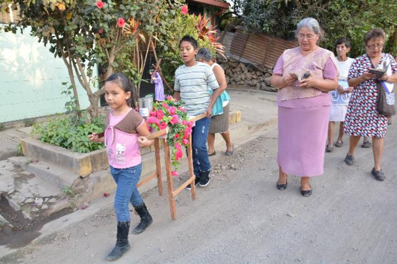 La participación de los niños en las diferentes actividades religiosas de la Cuaresma y de la Semana Santa ha aumentado año con año.