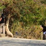 La zona donde fue el ataque es el límite entre las dos pandillas, según vecinos del lugar. Residentes reclaman más presencia policial. Foto EDH / Claudia Castillo