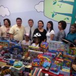 Representantes de Funipri, Hospital San Rafael y la Universidad Dr. José Matías Delgado estuvieron en la inauguración. foto edh / cortesía