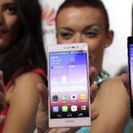 Huawei presenta el Ascend P7, el celular con 8 megapíxeles en la cámara delantera