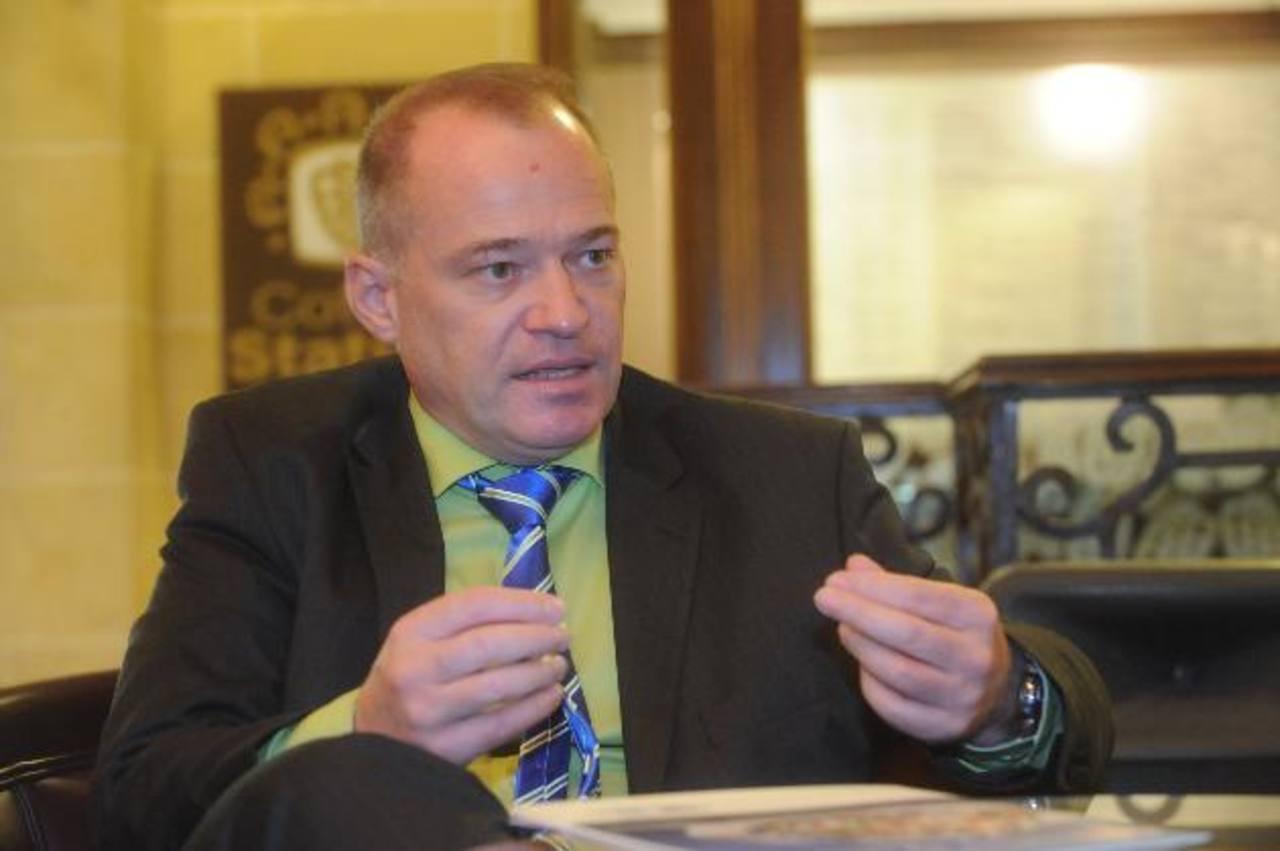 Günter Schranz, director ejecutivo de DQS-UL Group para Centroamérica, una certificadora de procesos de gestión empresarial, a nivel mundial.