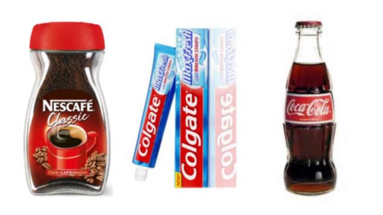 Coca Cola y Colgate también dominaron el porcentaje de penetración a nivel latinoamericano y mundial.