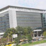 Edificio central del banco Davivienda en Bogotá.