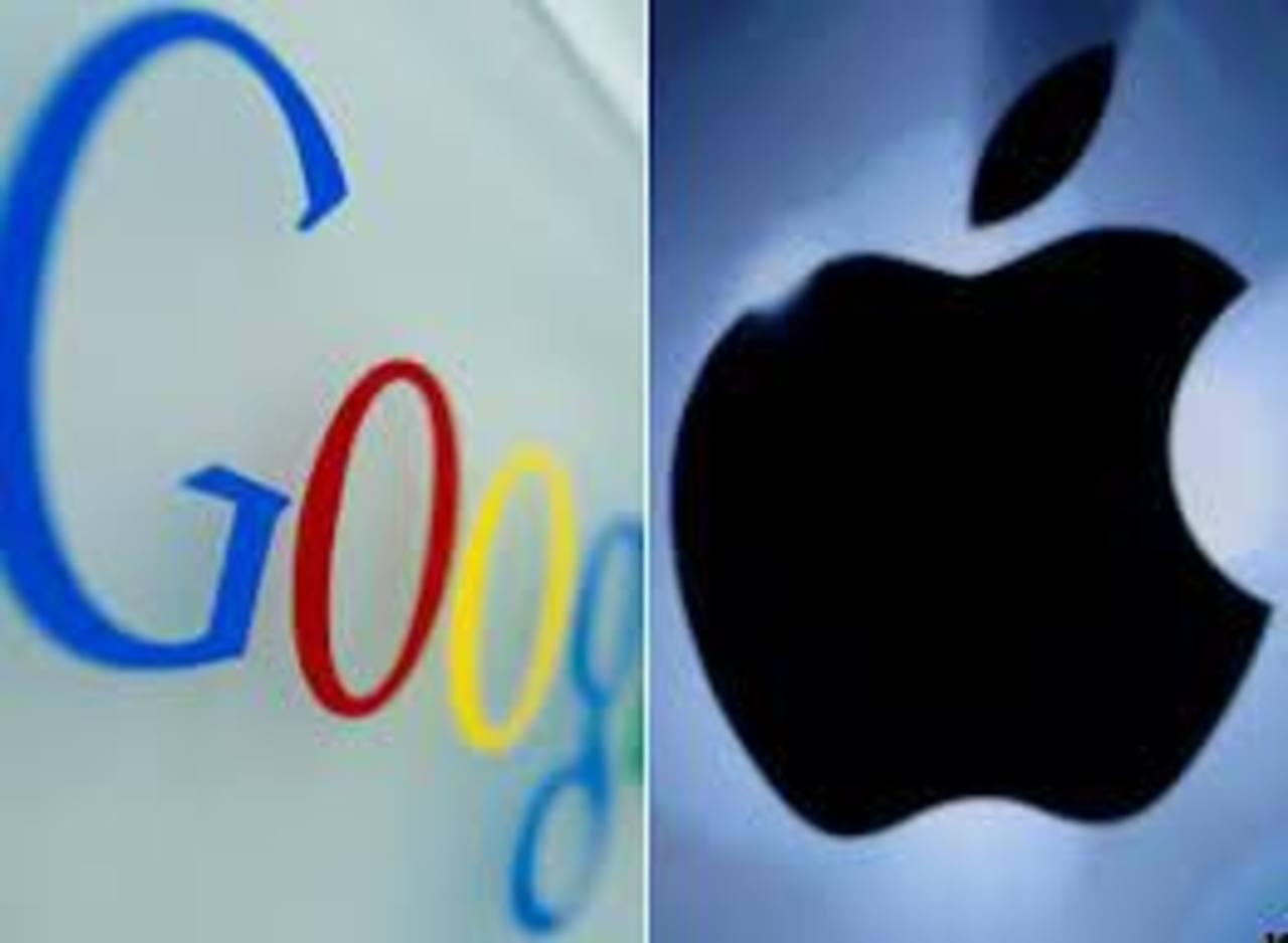 Apple y Google firman tregua en su guerra de patentes