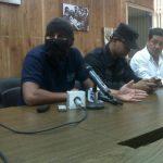 Policías levantan huelga de hambre