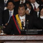 Rafael Correa apoya reelección indefinida en Ecuador
