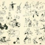 Plancha de Tintín de 1937 vendida a precio récord