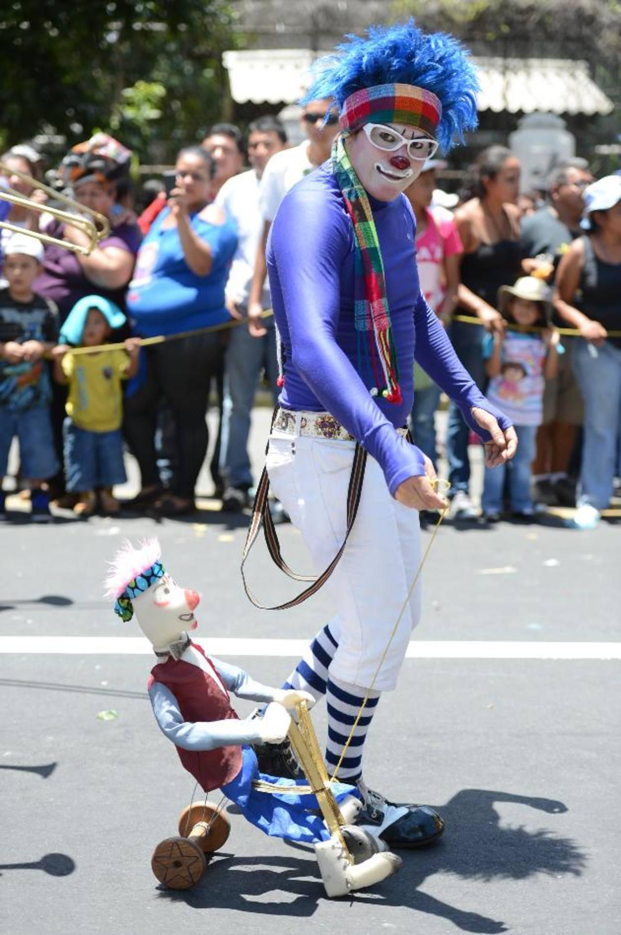 Los payasos vuelven a reunirse en El Salvador.