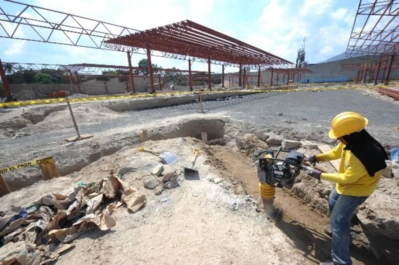 La terminal de Integración del Sitramss debería estar lista el 27 de mayo, según el MOP. foto edh