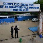 Muere al caerle portón de la escuela en Panchimalco