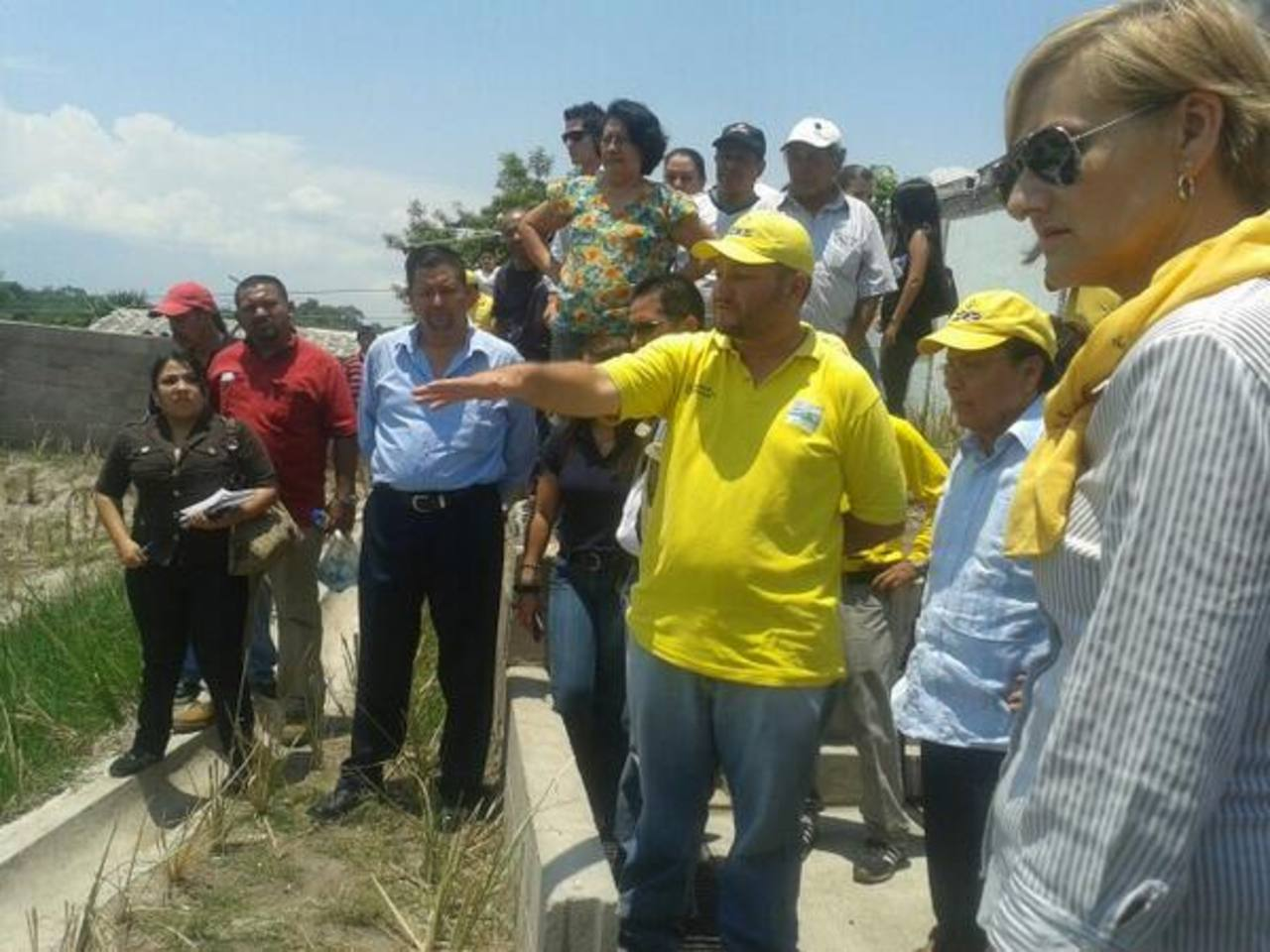 Una de las obras de mitigación fue realizada en una cárcava formada en la urbanización El Limón, en Soyapango.