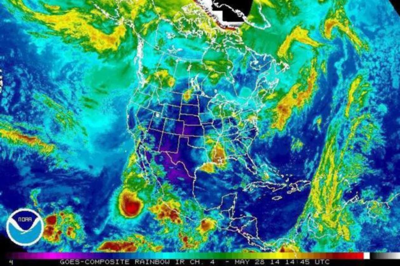 Tormenta tropical Amanda sigue afectando el litoral de México en el Pacífico