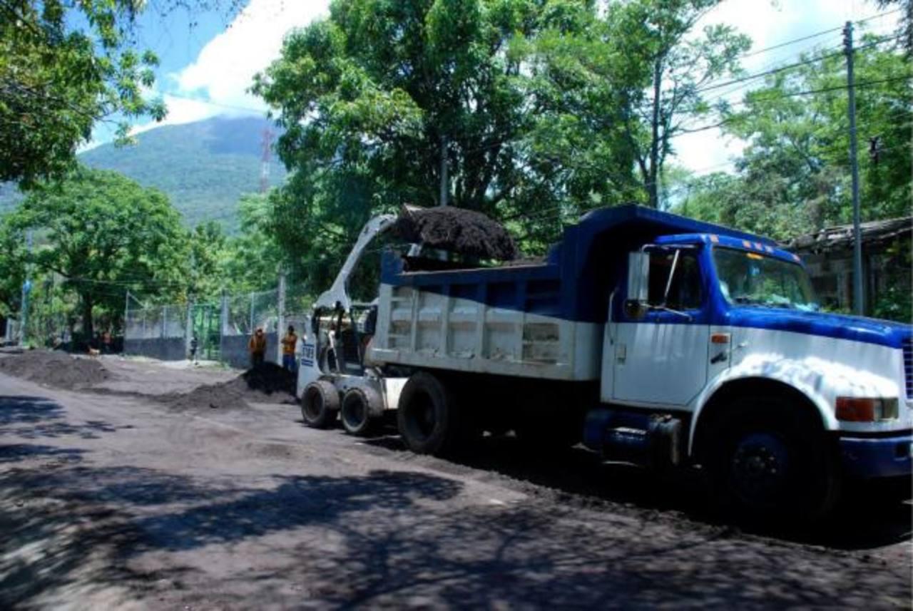 Inician limpieza de reservorios en el Chaparrastique