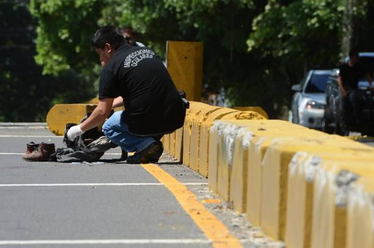 Francisco Humberto Peraza, de 50 años, fue asesinado en Zaragoza cuando se dirigía a trabajar. Foto EDH / Jaime Anaya