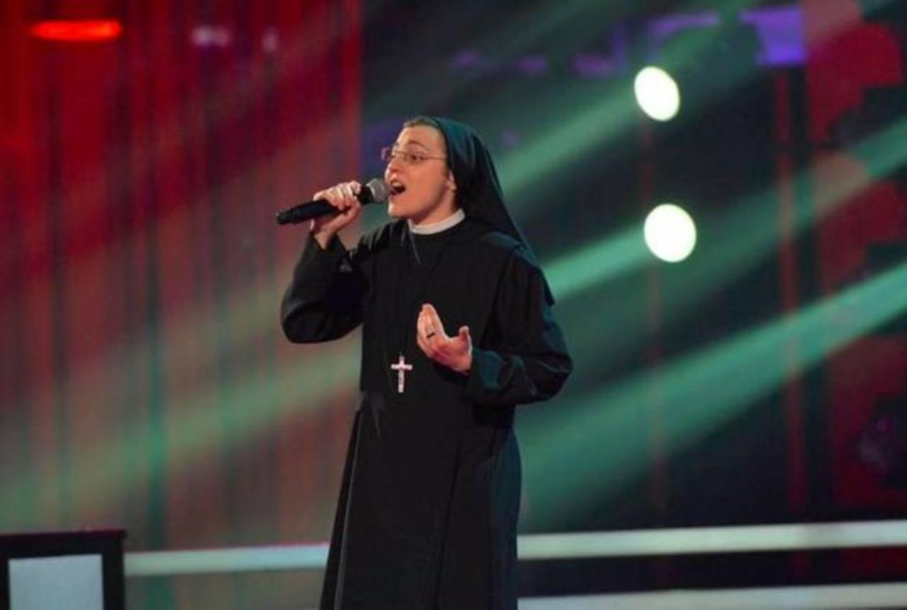 Sor Cristina pasa a la final de The Voice of Italy