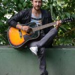 El artista guatemalteco quiere trascender fronteras con su música innovadora. Foto EDH/ Douglas Urquilla