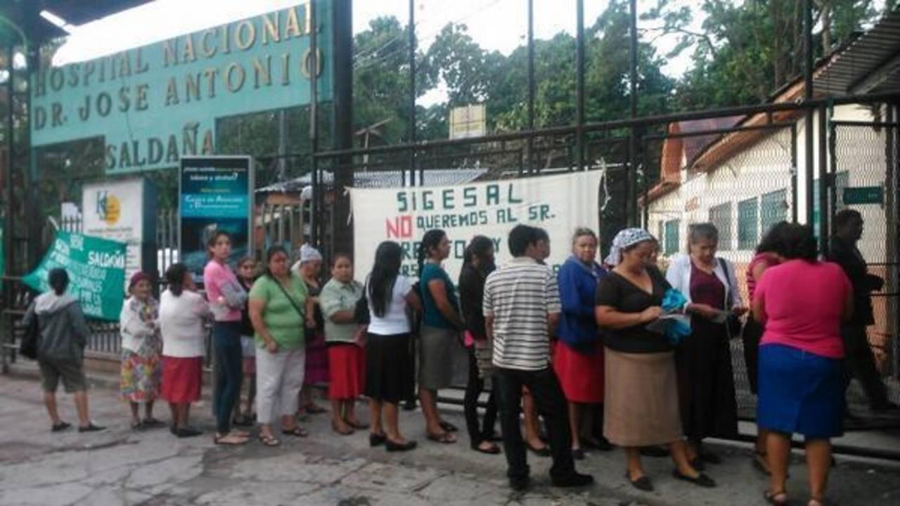 Suspenden las consultas en el hospital Saldaña