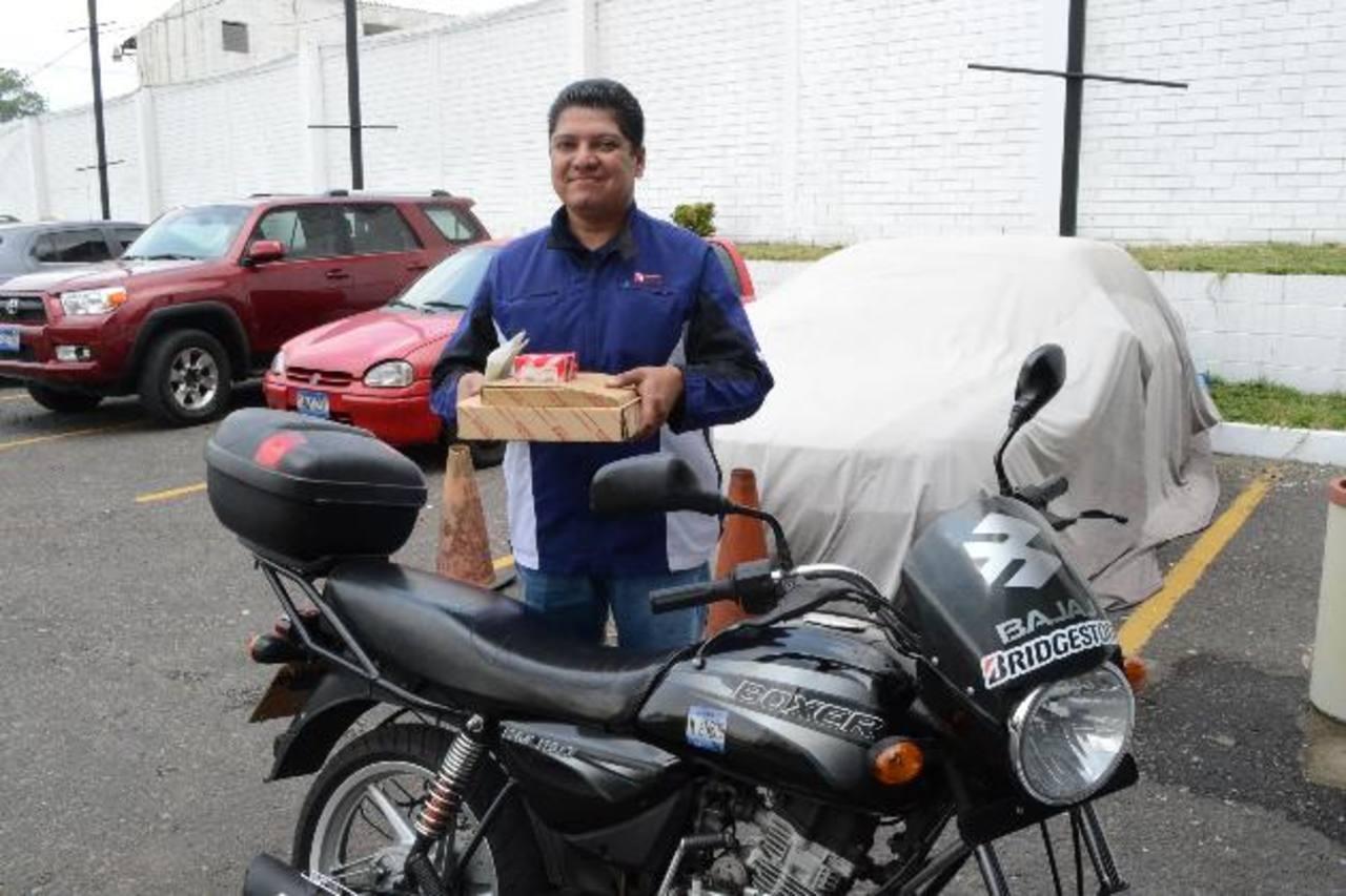 La entrega se hace a domicilio hasta la comodidad de su hogar u oficina. Fotos EDH/ d. Rezzio