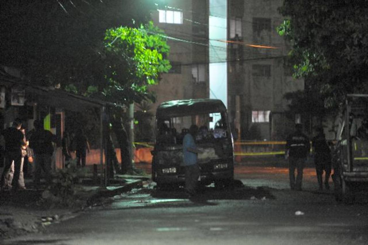 20 de julio de 2010, la mara 18 cometió la más cobarde masacre, 18 pasajeros de un microbús murieron al ser quemados. Foto EDH