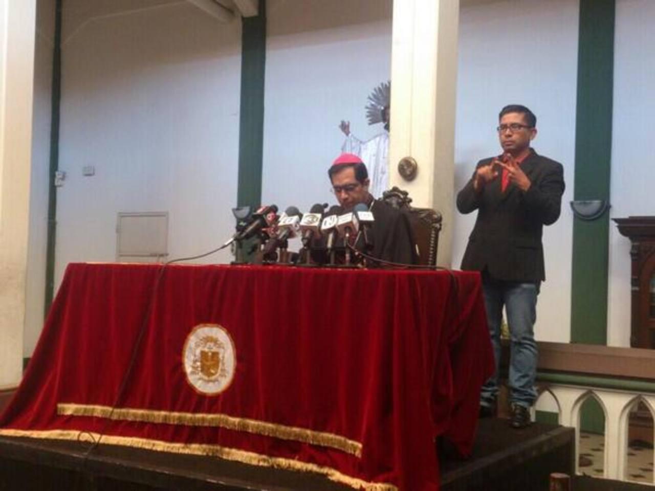 Huelga de hambre de policía es una acción válida, dice Arzobispo de San Salvador