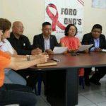 El Foro ONG?S en conferencia de prensa denunció que el Minsal ha suspendido el Día Nacional de la Prueba del VIH por falta de fondos.