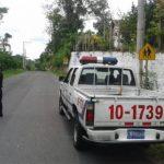 Escena de doble homicidio en Santa Cruz Michapa, Cuscatlán. Las víctimas, empleados de empresa de telefonía, viajaban en moto y fueron interceptados por sujetos.
