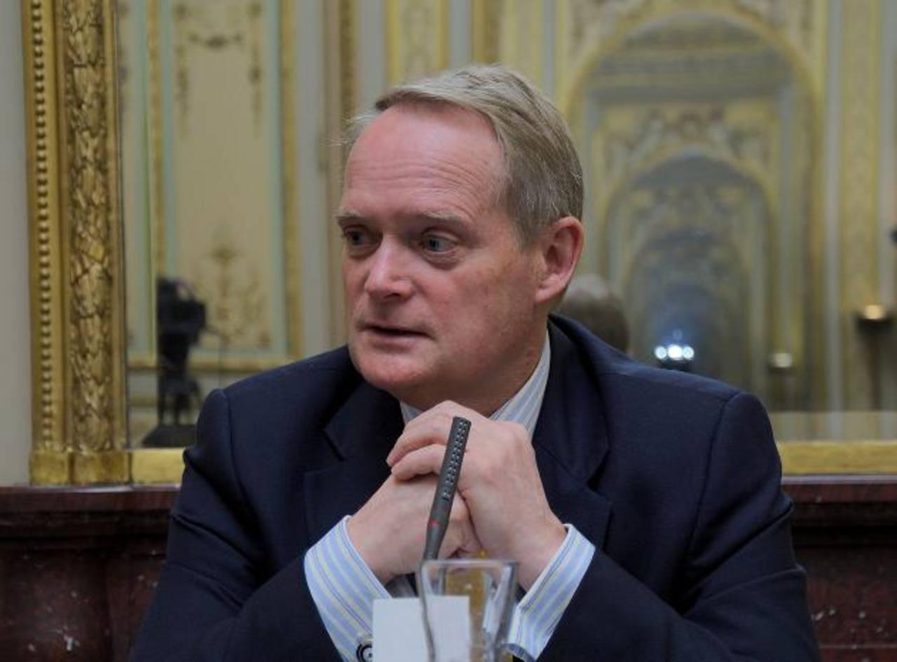 Adam Blackwell, Secretario Multidimensional de Seguridad de la Organización de Estados Americanos.