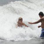 Se ahogan cinco personas en playas de La Libertad y Sonsonate