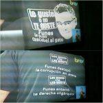 """Funes aparece en su programa con camiseta """"Te guste o no te guste"""""""