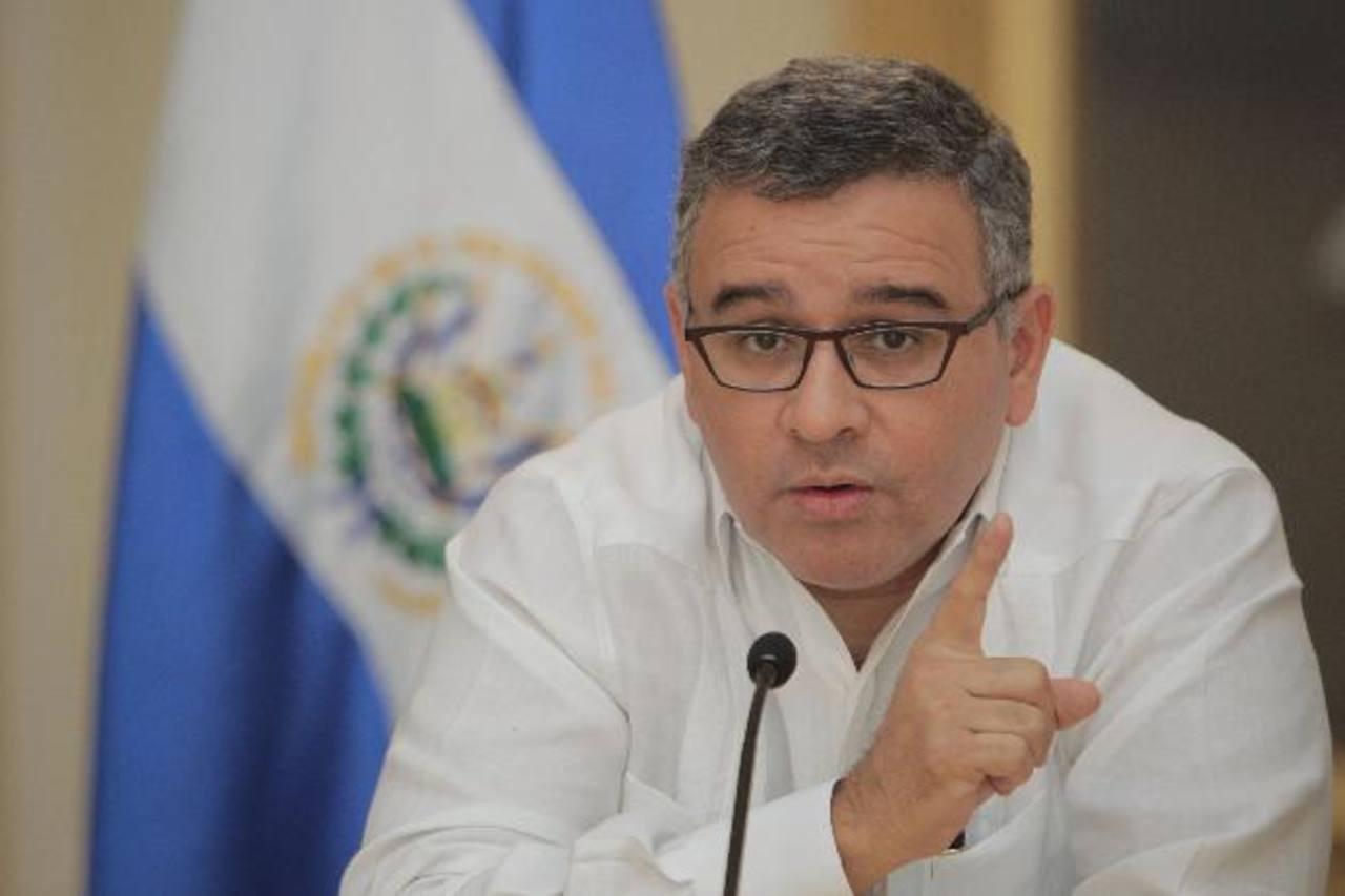 El presidente de la República, Mauricio Funes.