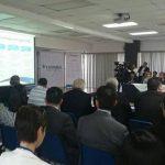Durante la presentación del informe de FUSADES.