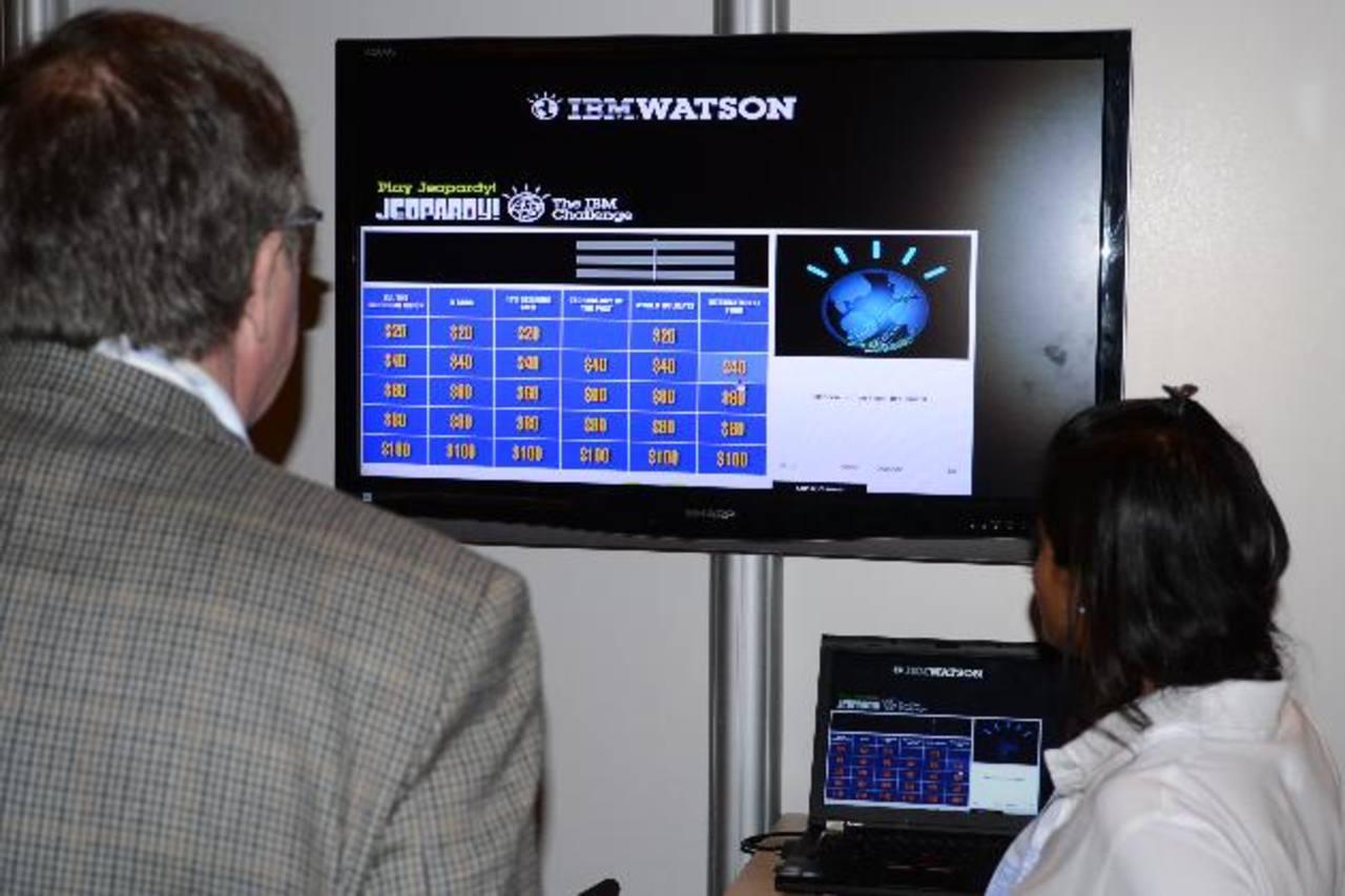 Watson es un sistema informático de inteligencia artificial capaz de responder a preguntas formuladas en lenguaje natural desarrollado por la corporación estadounidense IBM. foto EDH