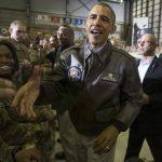 Barack Obama hace visita sorpresa a tropas en Afganistán