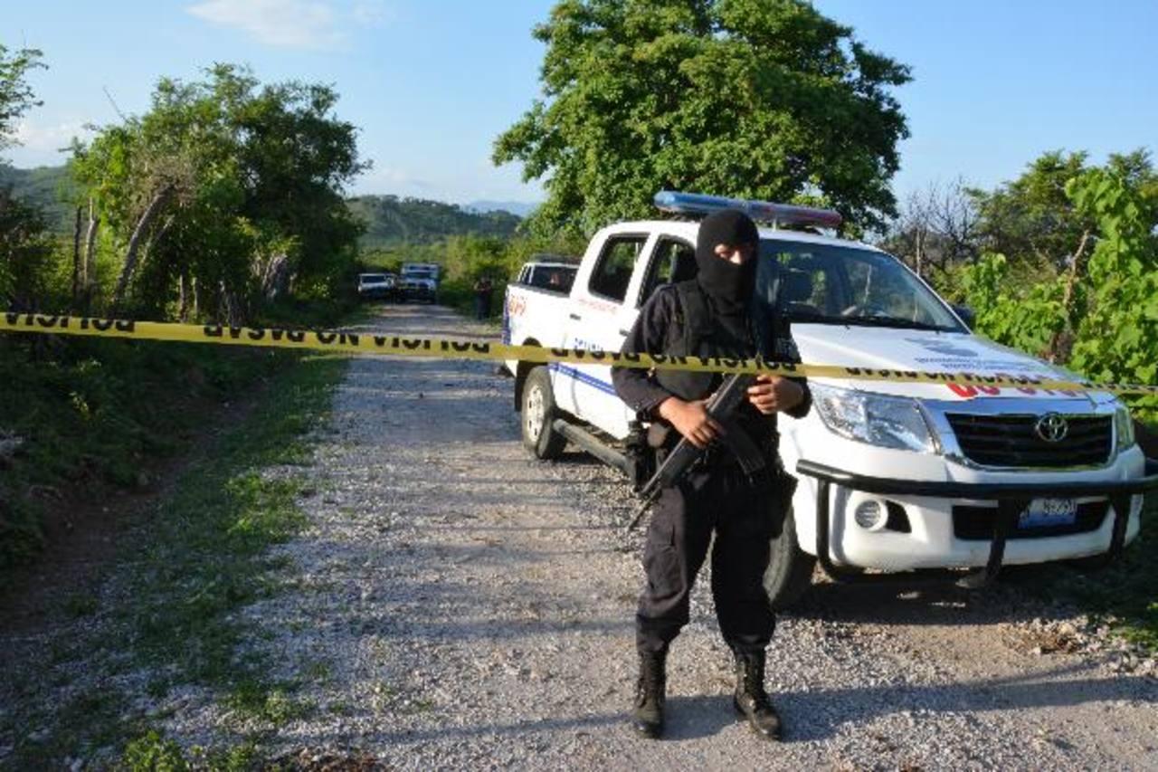 Ayer, tres personas fueron raptadas y asesinadas por supuestos pandilleros en Lolotique. Una de las víctimas era un empresario de terracería. Foto EDH / C. Segovia