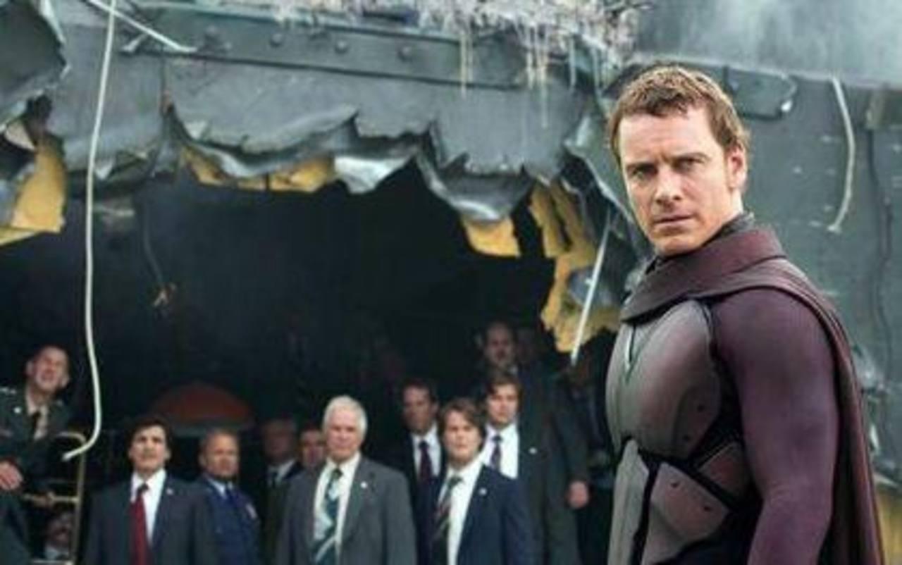 """Imagen del actor Michael Fassbender en la cinta de Fox y Marvel """"X-Men: Days of Future Past""""."""