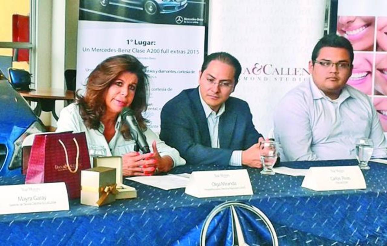 Olga Miranda, presidenta de la fundación invitó a los salvadoreños a solidarizarse con la causa. foto edh /cortesía
