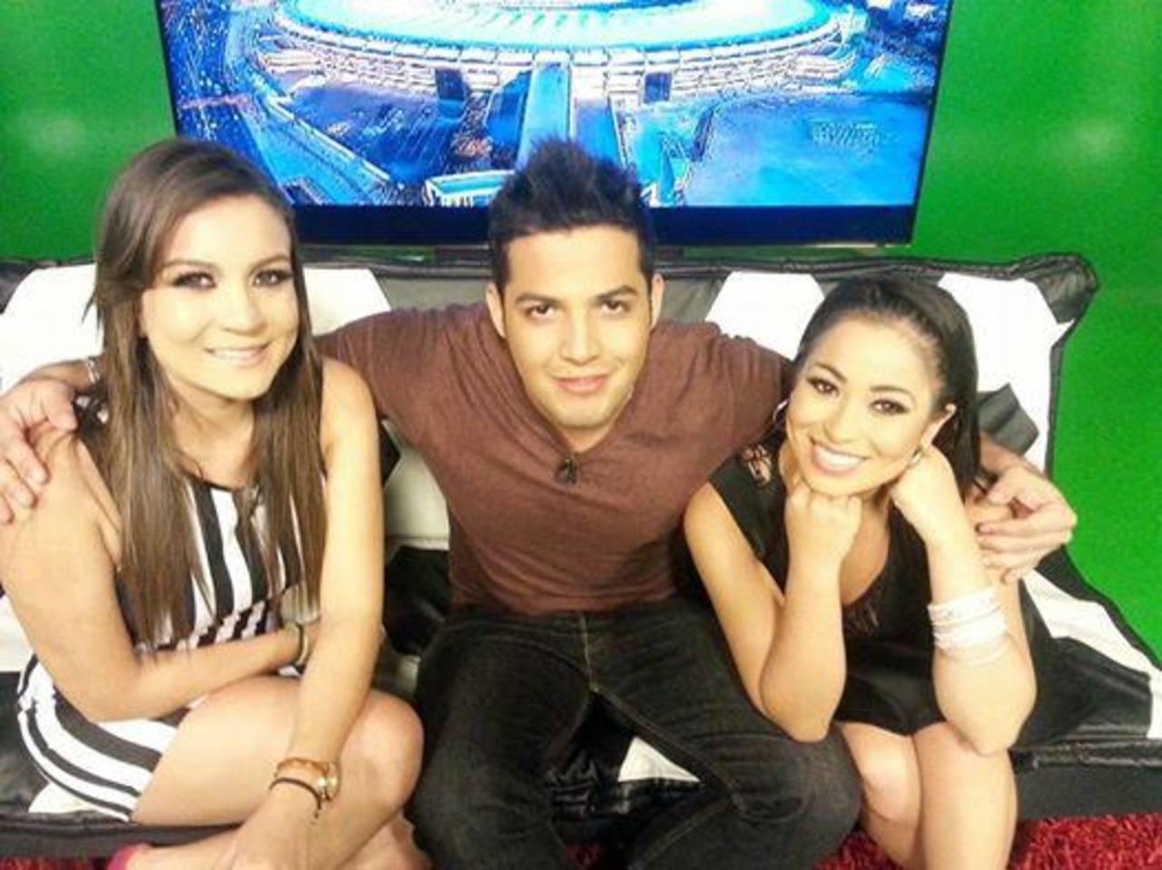Los presentadores Kathy, Eduardo y Paola. foto edh/ FACEBOOK