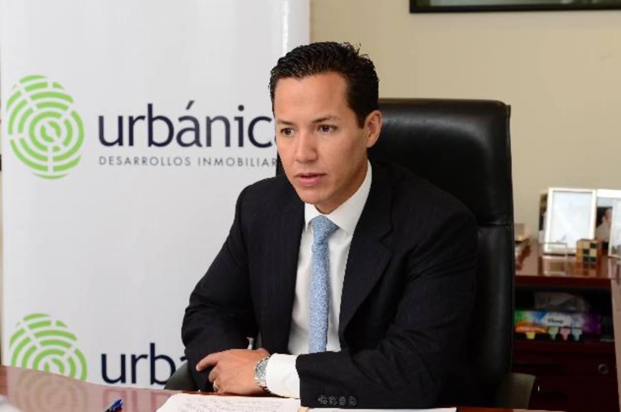 Alejandro Dueñas, director ejecutivo de Urbánica, asegura que busca aportar al crecimiento de la industria de la construcción del país a través de sus proyectos inmobiliarios.