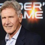 Harrison Ford en rodaje de Star Wars