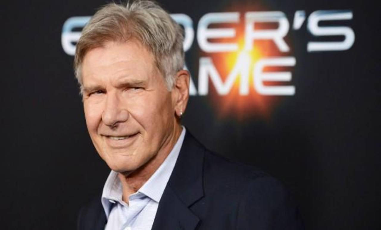 Harrison Ford en rodaje de Star Wars