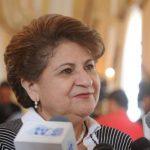 Ministra de Salud Violeta Menjívar