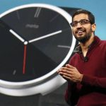 Sundar Pichai, vice presidente de Google, división Android, Chrome y Apps.