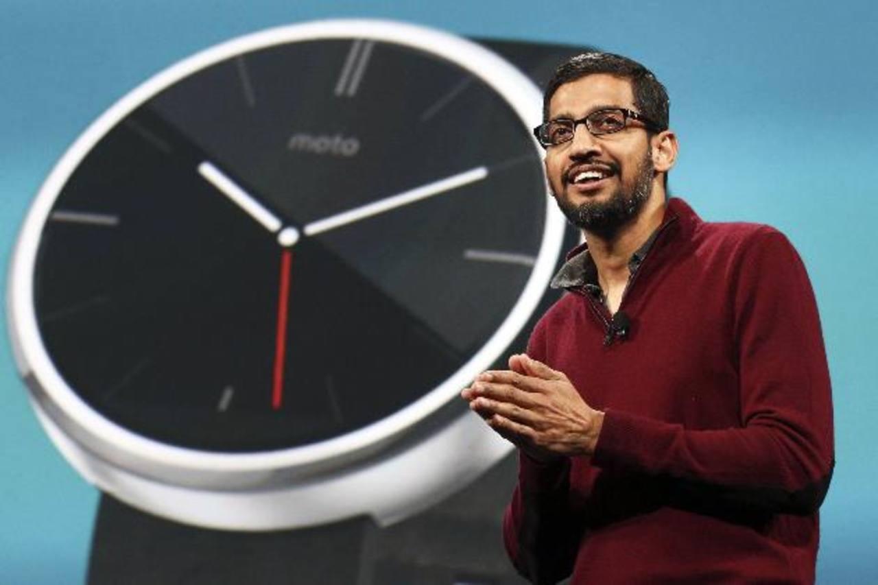 Sundar Pichai, vice presidente de Google, división Android, Chrome y Apps.