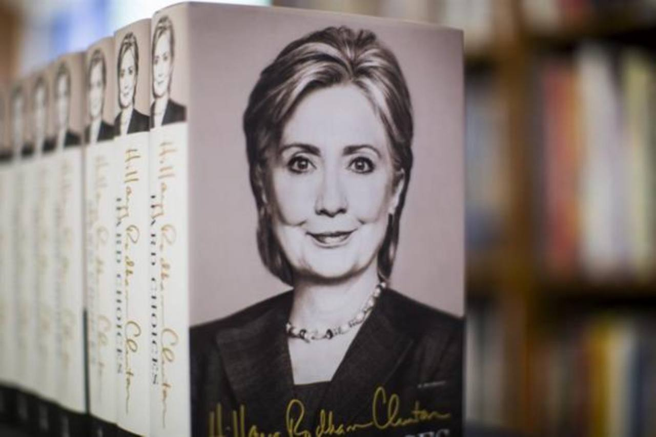 Las memorias Hillary Clinton han sido consideradas un preludio al anuncio oficial de su candidatura a la Presidencia por el Partido Demócrata
