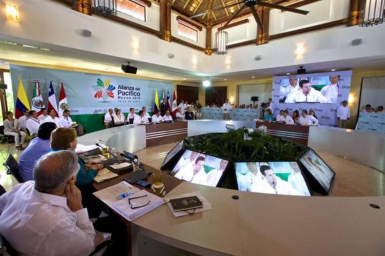 IX Cumbre de la Alianza del Pacífico que se celebra hoy y mañana en México