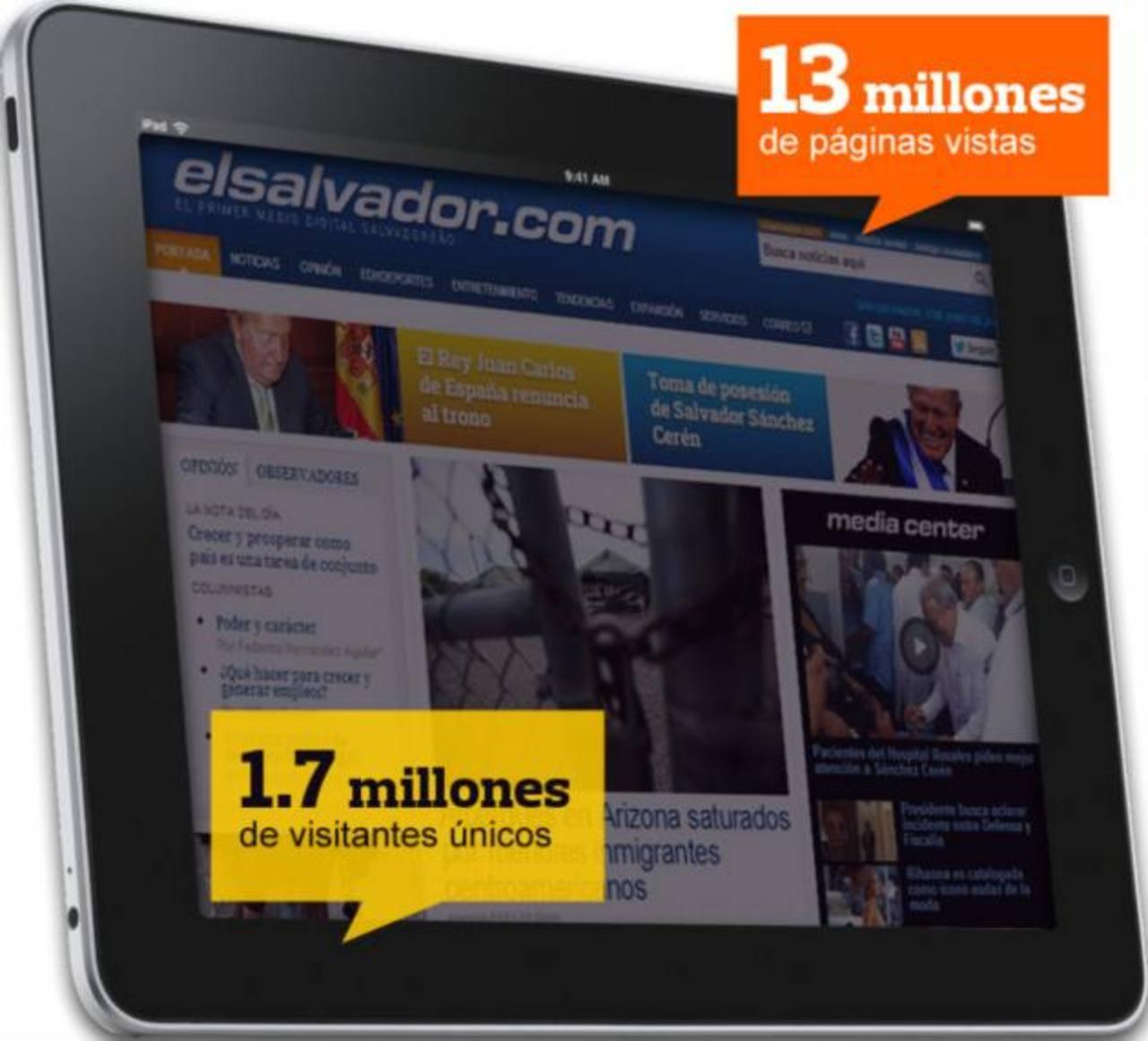 La cobertura del traspaso de mando presidencial fue seguida por millares de personas a través de elsalvador.com. Foto EDH / archivo